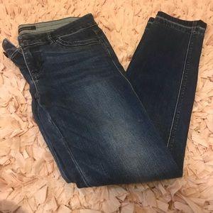 White House Black Market Skimmer Jeans. Size 2.